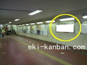 新松戸駅本屋口№2駅看板・駅広告、写真1