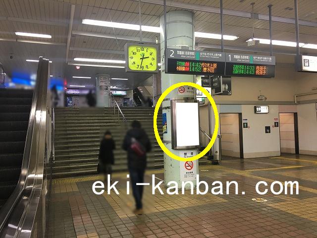 JR 亀有駅 本屋口№58駅看板・駅広告、写真1
