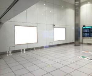 羽田空港国際線ターミナル駅_駅看板1