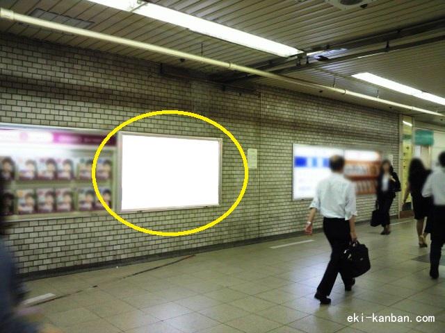JR 新橋駅 地下1階№10駅看板・駅広告、写真1